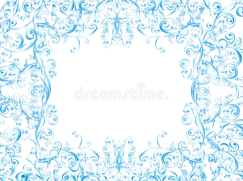 Christmas Vector Background Whit Floral Ornament Royalty Free Stock Photography