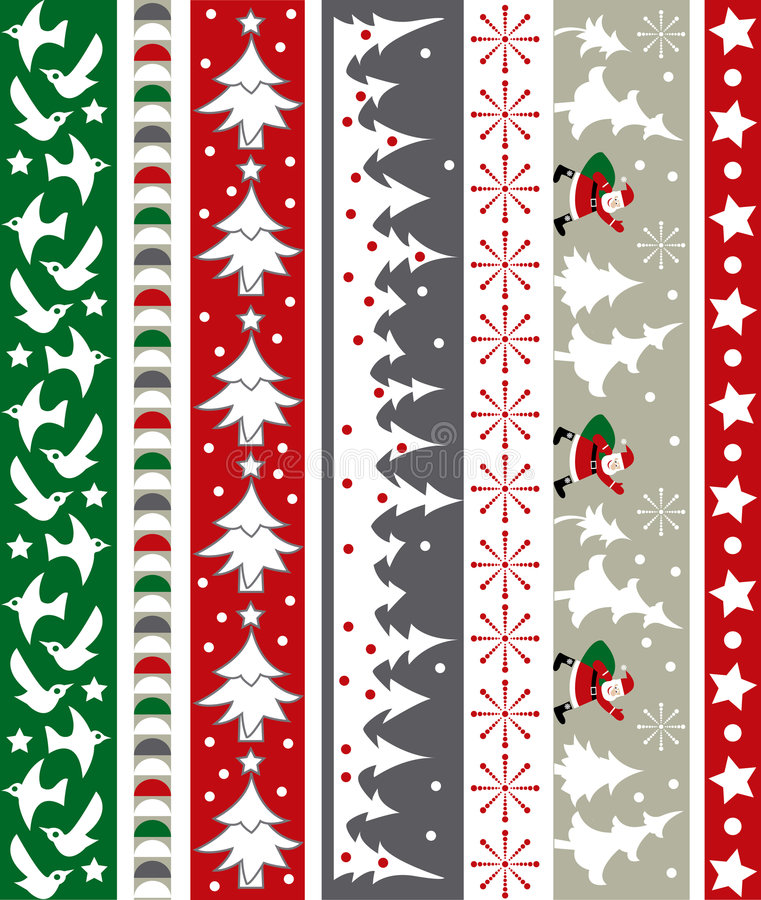 Christmas vector border vector illustration