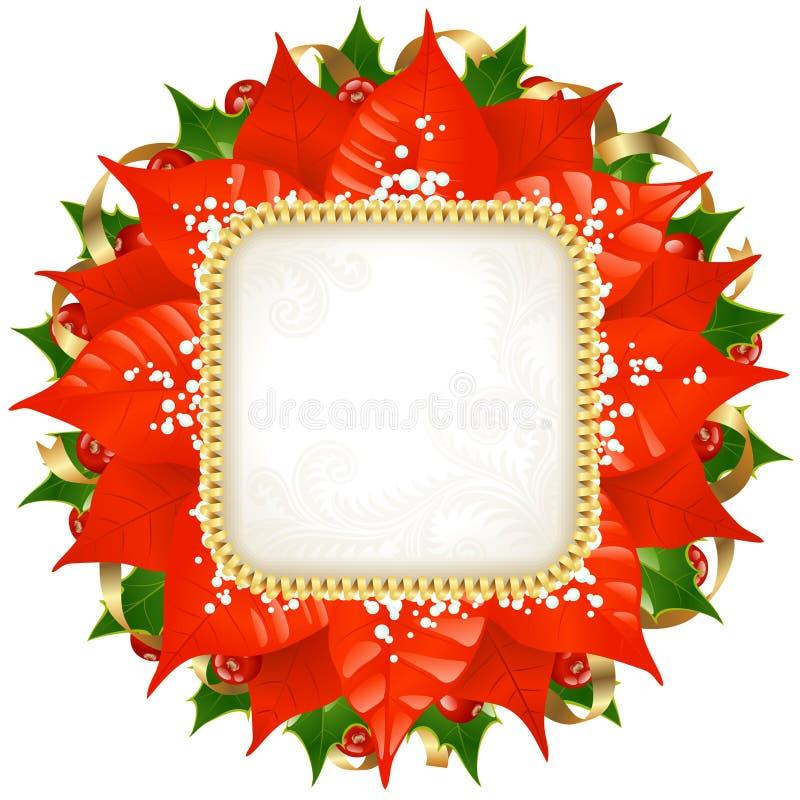 Christmas vector frame 12