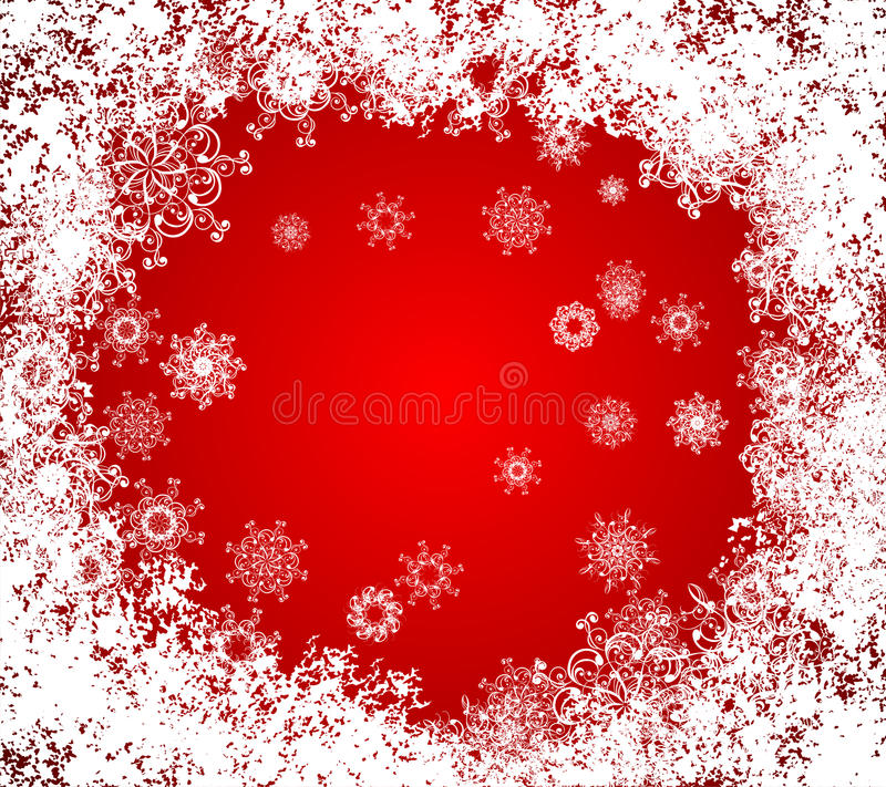 Download Christmas Vector Grunge Background. Frozen Window Stock Image - Image: 16713771