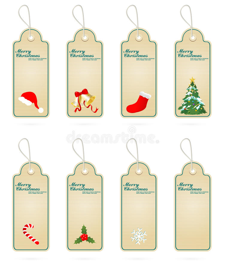 Download Christmas Vector Label Elements Collections Stock Illustration - Image: 17476650