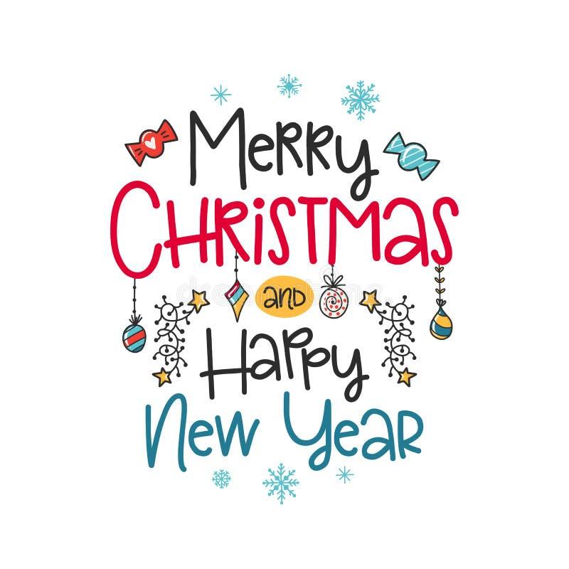 Christmas vector poster vector illustration
