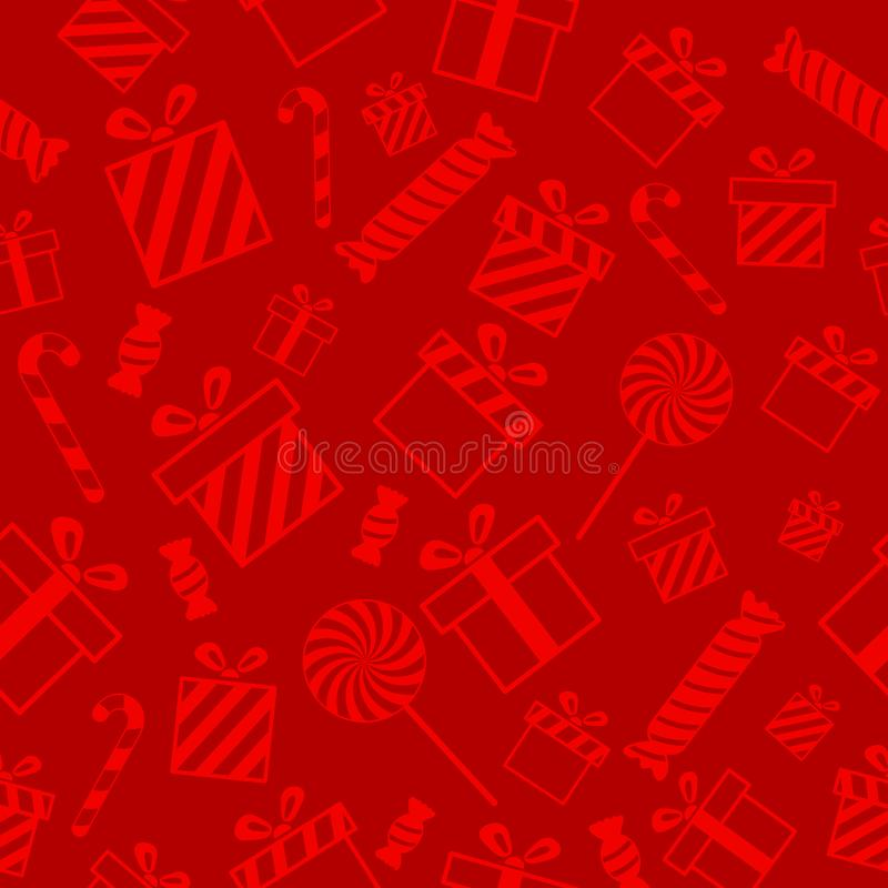 Christmas vector seamless pattern vector illustration