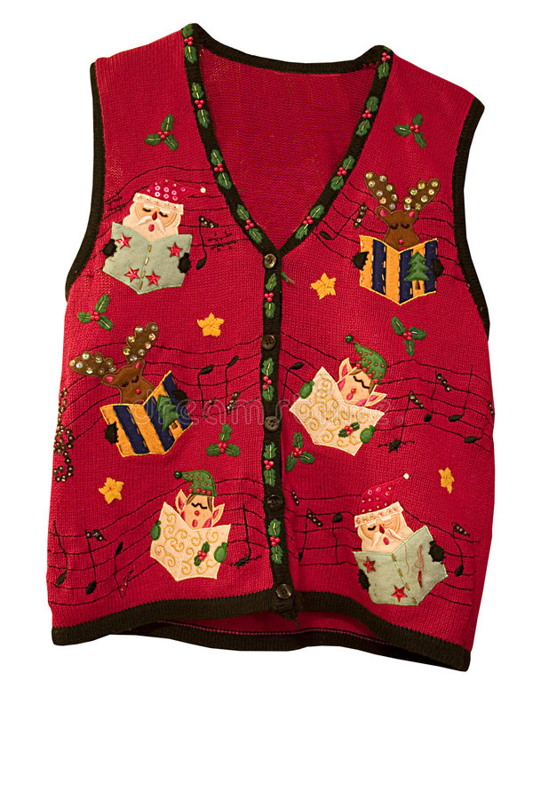 Christmas Vest royalty free stock photo