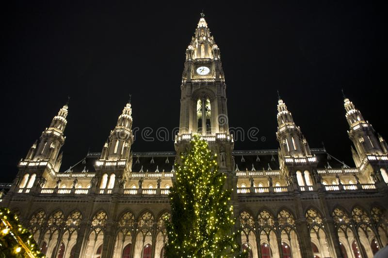 Christmas in Vienna royalty free stock photo