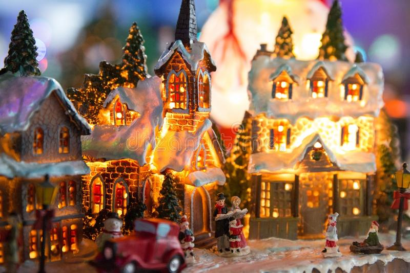 Christmas Village royalty free stock photography