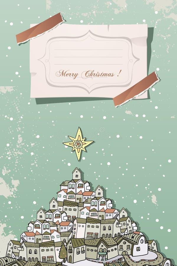 Christmas vintage stock image