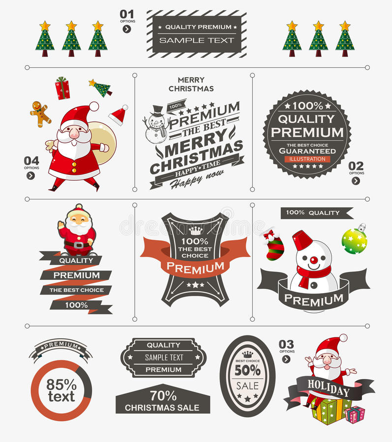 Download Christmas vintage banner stock vector. Illustration of classic - 33806649