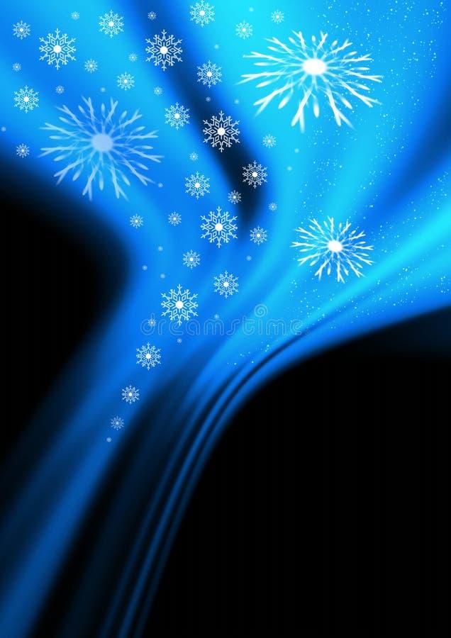 Christmas wind vector illustration