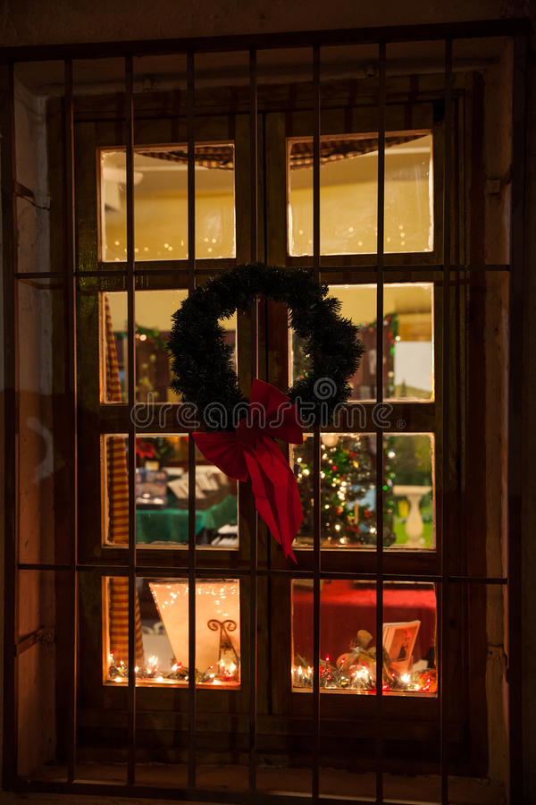 Download Christmas Window Stock Image - Image: 28217811
