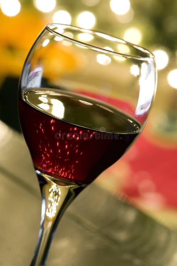 Christmas Wine stock photography