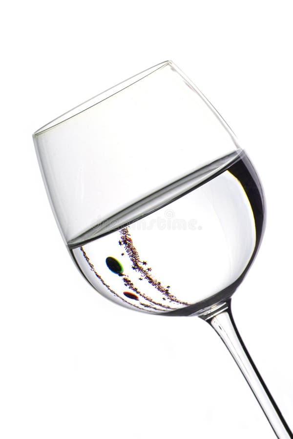 Free Christmas Wine Glasses Stock Photos - 381003