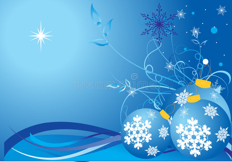 Download Christmas Winter Background Stock Vector - Image: 7338070