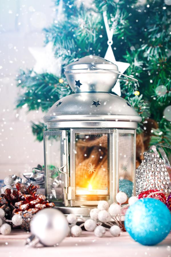 Christmas winter background. New Year`s toys. Happy New Year and Merry Christmas. Christmas winter background, New Year`s toys. Happy New Year and Merry royalty free stock images