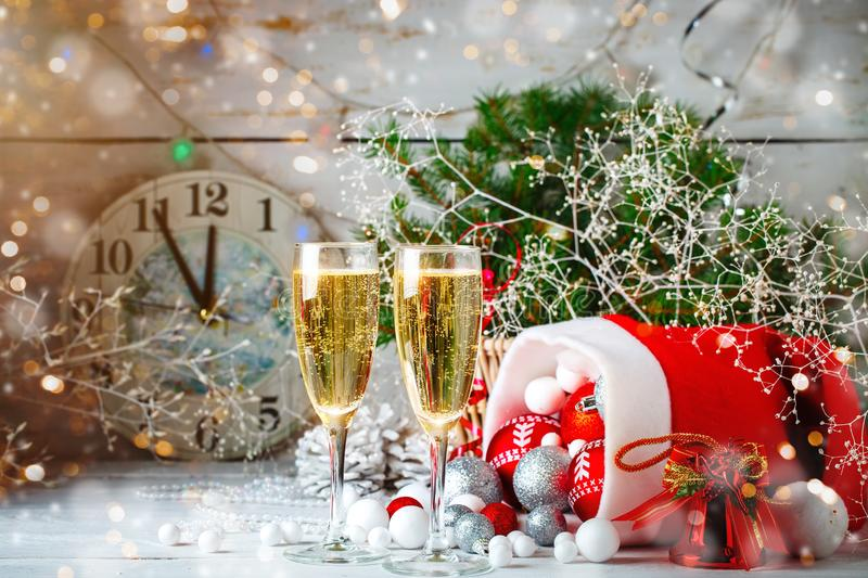 Christmas winter background. New Year`s toys. Happy New Year and Merry Christmas. Christmas winter background, New Year`s toys. Happy New Year and Merry stock photos