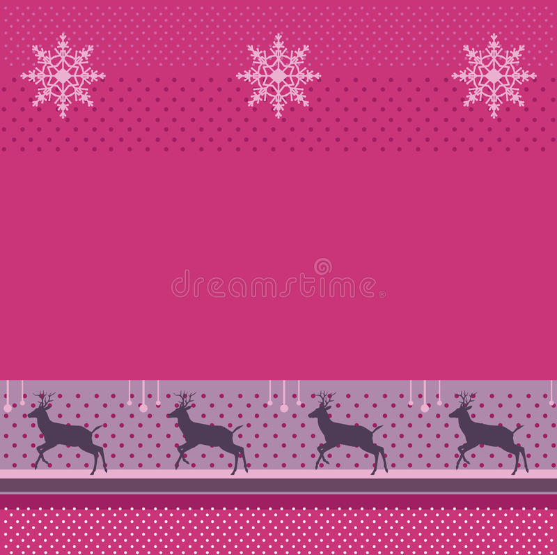 Christmas decoration, winter Holiday Background reindeer. Christmas decoration, winter, Holiday Background, Vector. Abstract Christmas Background. Festive vector illustration