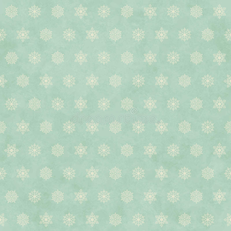 Christmas winter retro seamless pattern background royalty free illustration