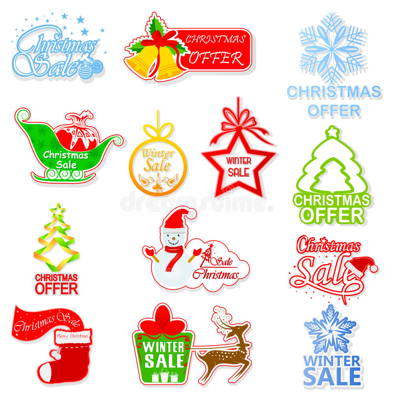 Download Christmas and Winter Sale stock illustration. Image of gift - 34767146
