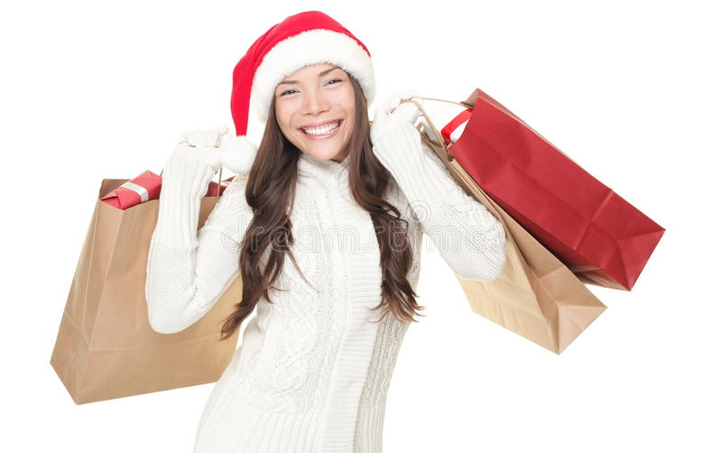 Christmas winter shopping
