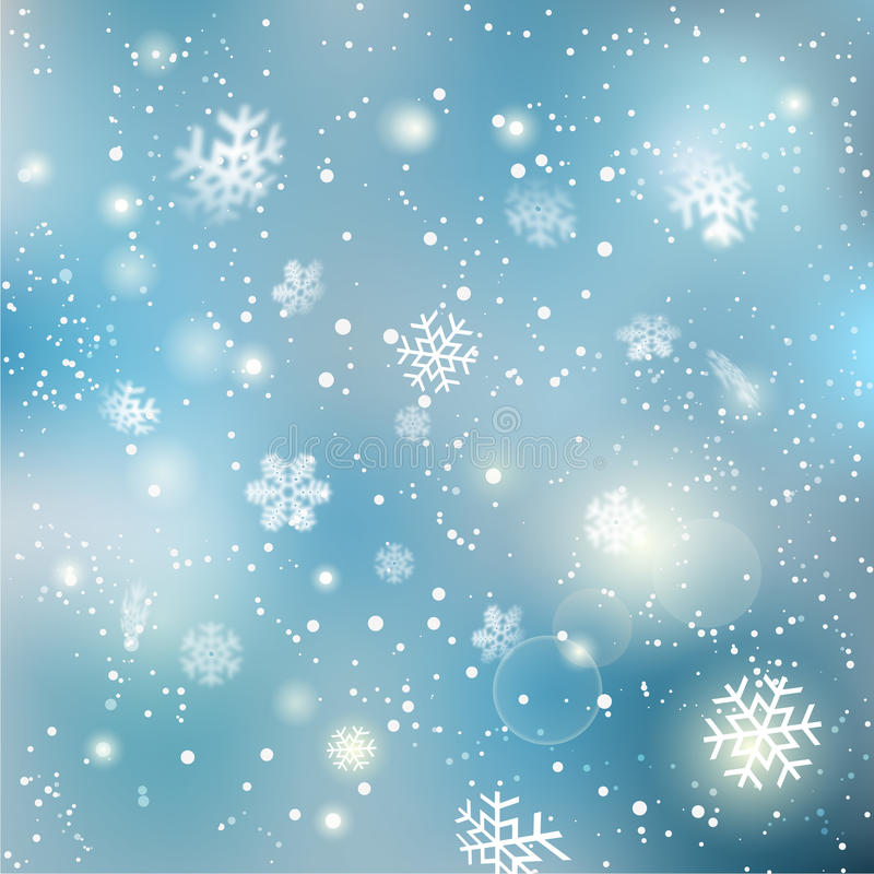 Free Christmas Winter Snowflake Background Stock Images - 72458284