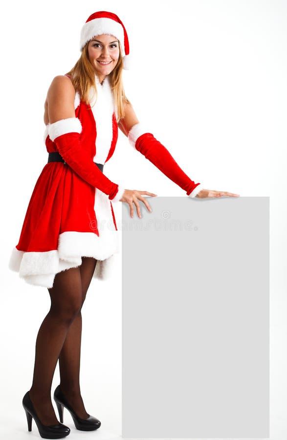 Download Christmas woman stock photo. Image of beauty, gift, model - 22206980