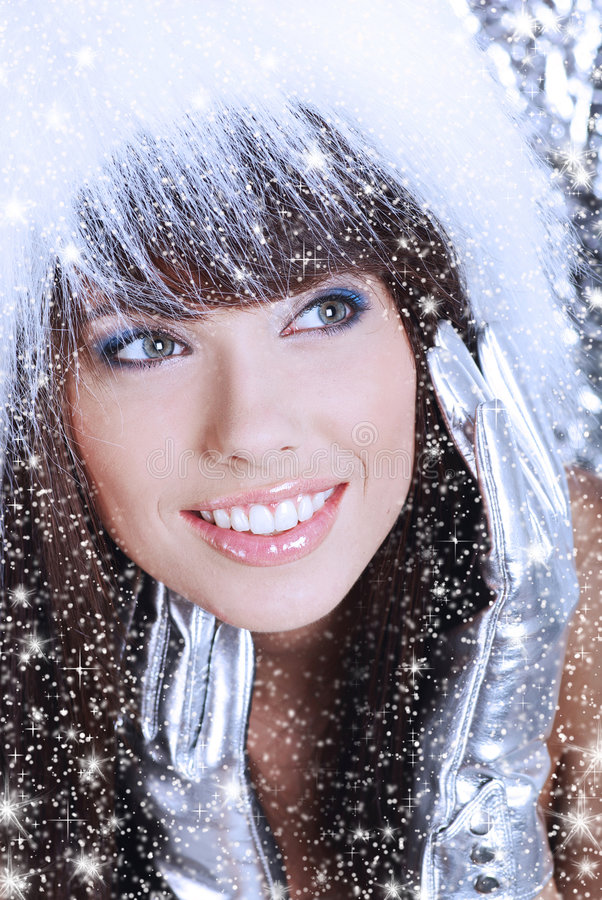 Download Christmas woman stock image. Image of december, holiday - 6482099