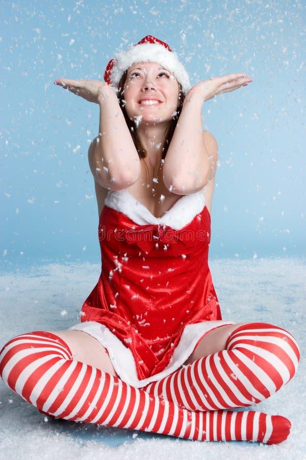 Download Christmas Woman stock image. Image of christmas, person - 6846505