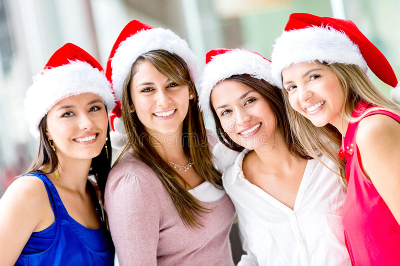 Download Christmas women stock image. Image of happy, christmassy - 28144045