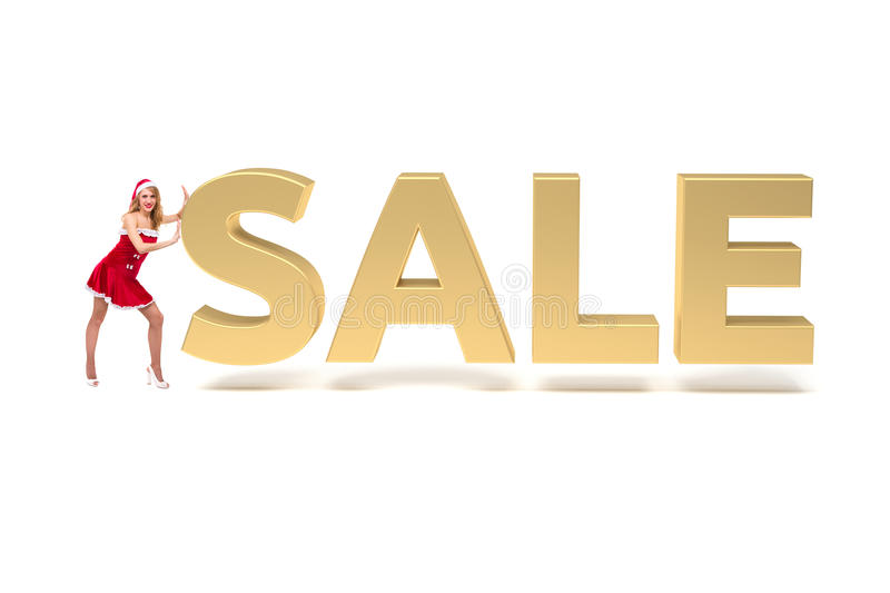 Christmas women with word sale
