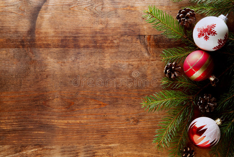 Christmas wood background royalty free stock photography