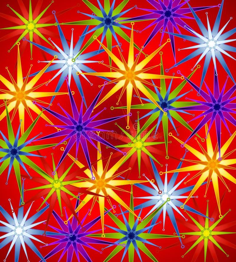 Christmas Wrap Background stock photo