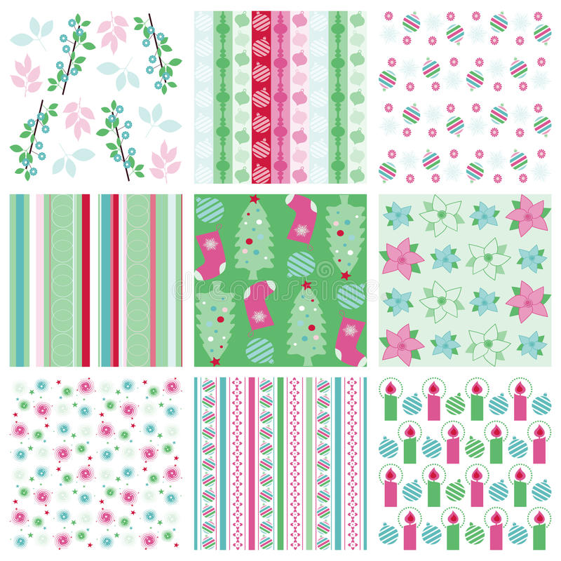 Download Christmas wrapping paper stock vector. Illustration of star - 16351466