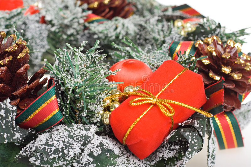 Download Christmas wreath stock photo. Image of color, christmas - 1413024