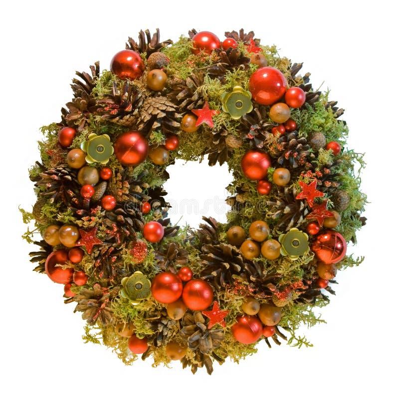 Free Christmas Wreath Royalty Free Stock Image - 16587446