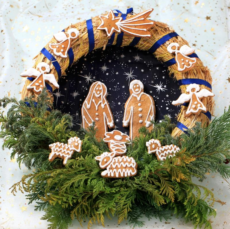 Download Christmas Wreath Royalty Free Stock Photography - Image: 21179127