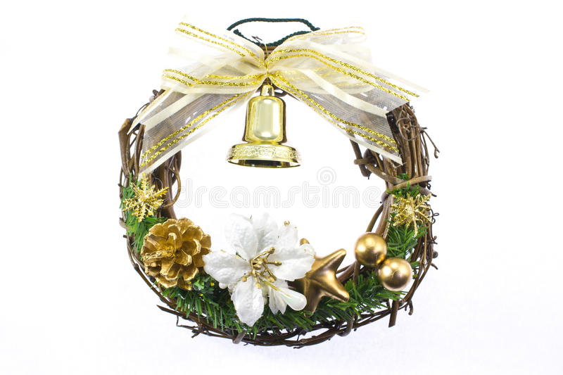 Download Christmas Wreath Royalty Free Stock Image - Image: 27543996