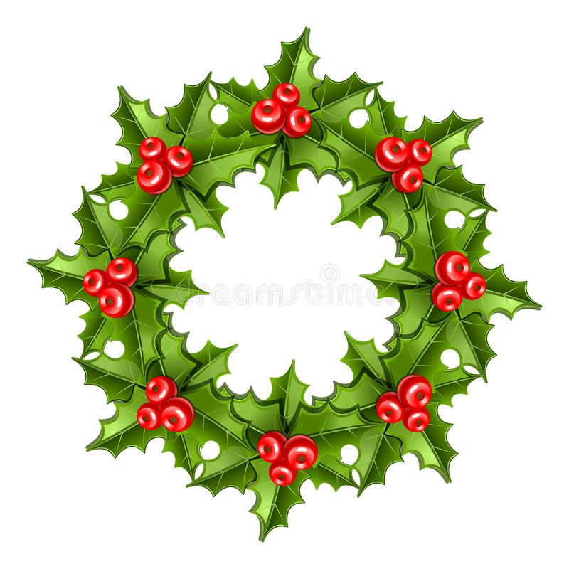 Download Christmas wreath stock photo. Image of christmas, winter - 27682754