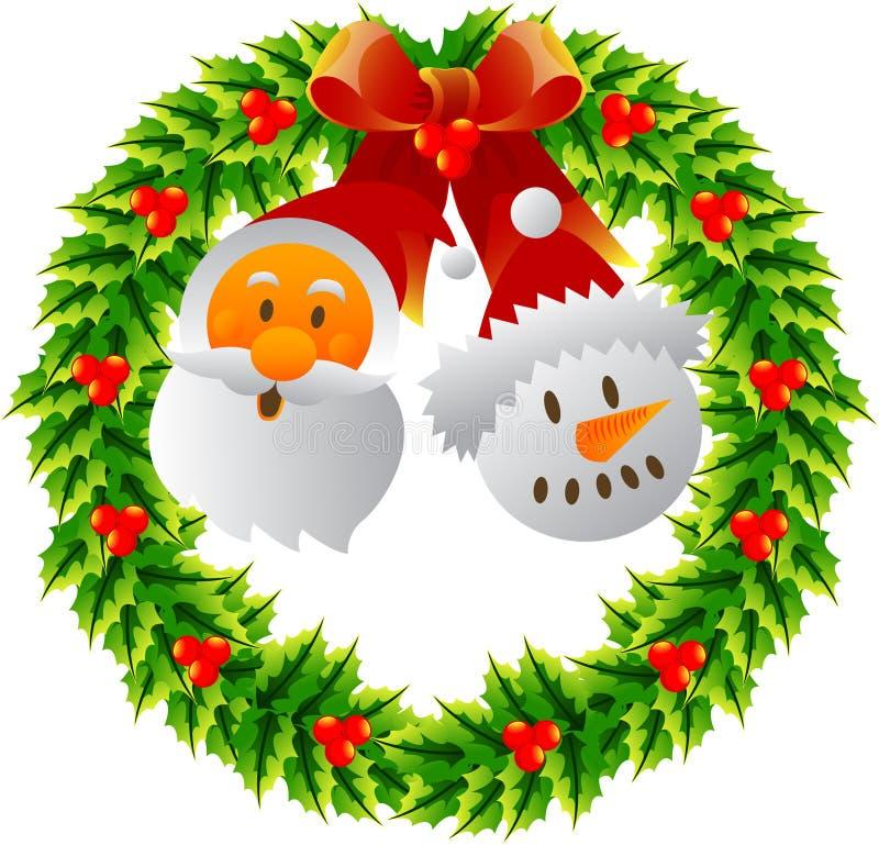Free Christmas Wreath Stock Photography - 27903962