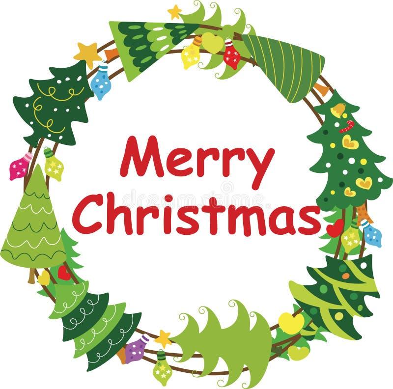 Free Christmas Wreath Frame 3 Stock Image - 16762641