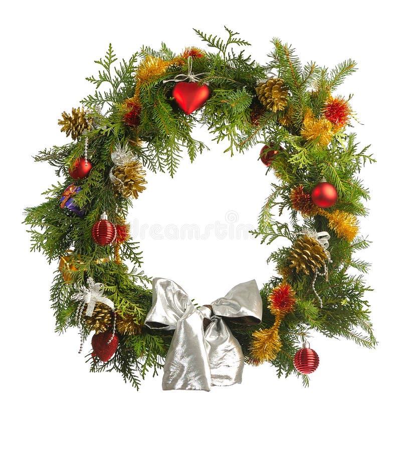 Christmas wreatlh royalty free stock photos