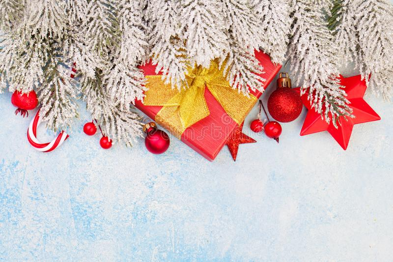Christmas. Xmas background border card.  stock photos