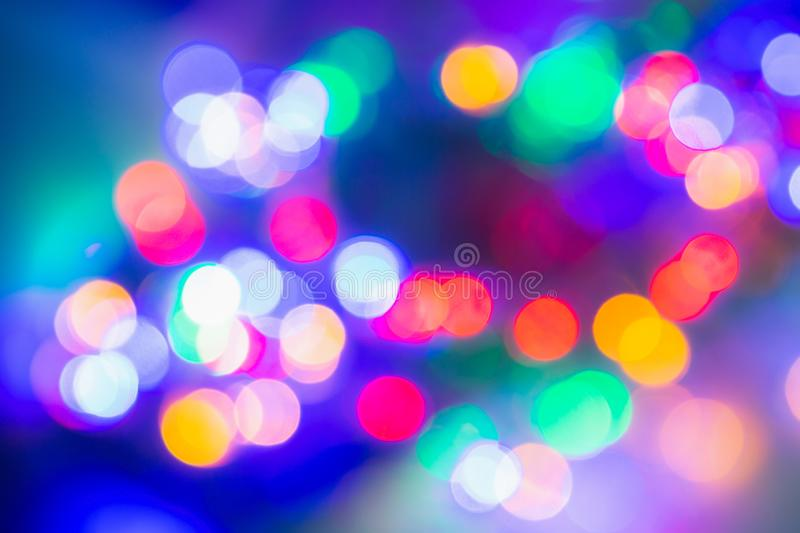 Christmas xmas, Happy new year 2020 abstract bokeh background. defocused royalty free stock photography