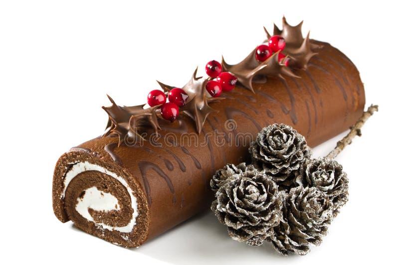 Download Christmas Yule Log stock image. Image of festive, xmas - 11522109