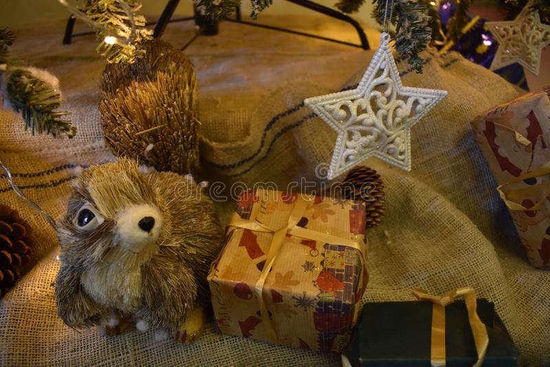 Christmaseboom stock fotografie