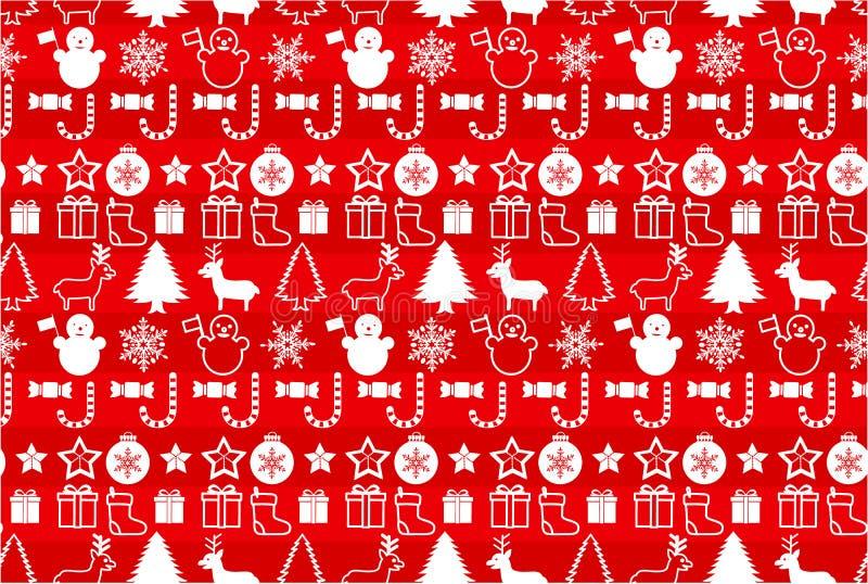 christmass πρότυπο άνευ ραφής διανυσματική απεικόνιση