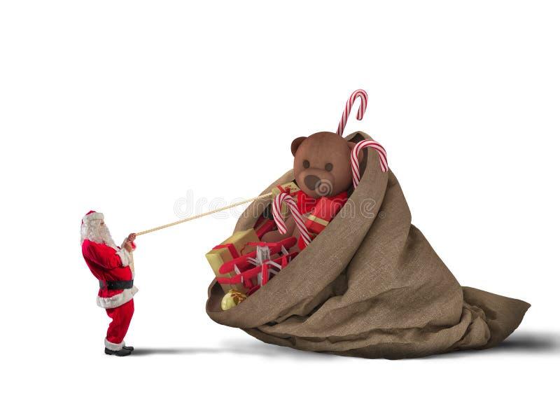 Christmass complètement de présent images stock