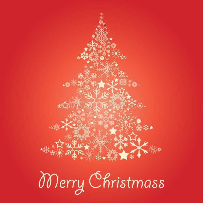 christmass drzewni ilustracji