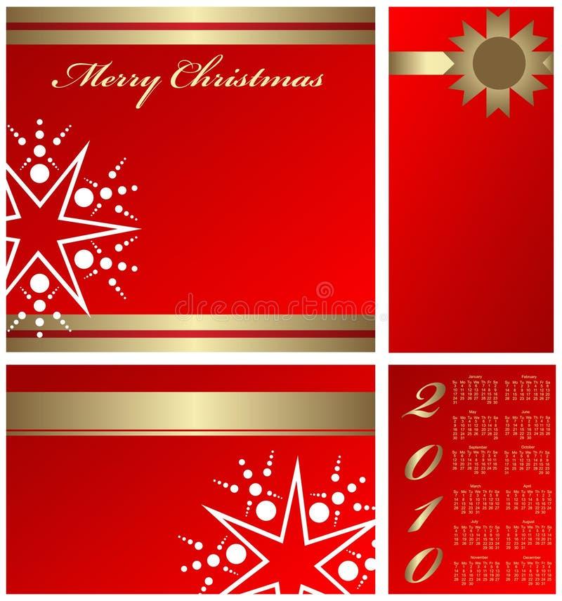 Christmass elements vector illustration