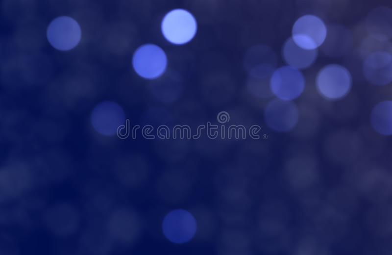 Christmass mood blue bokeh background royalty free stock photos