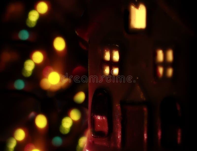 Download Christmass Stimmung stockbild. Bild von gelb, feiertag, leuchten - 25761